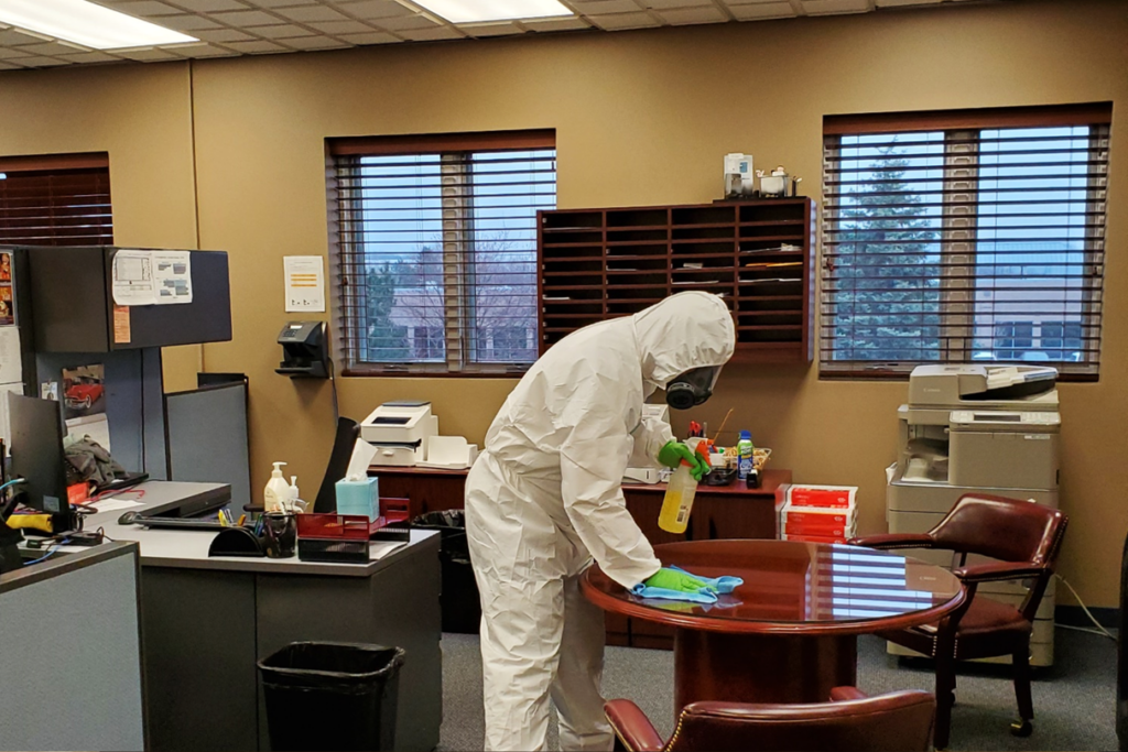 office disinfection service California